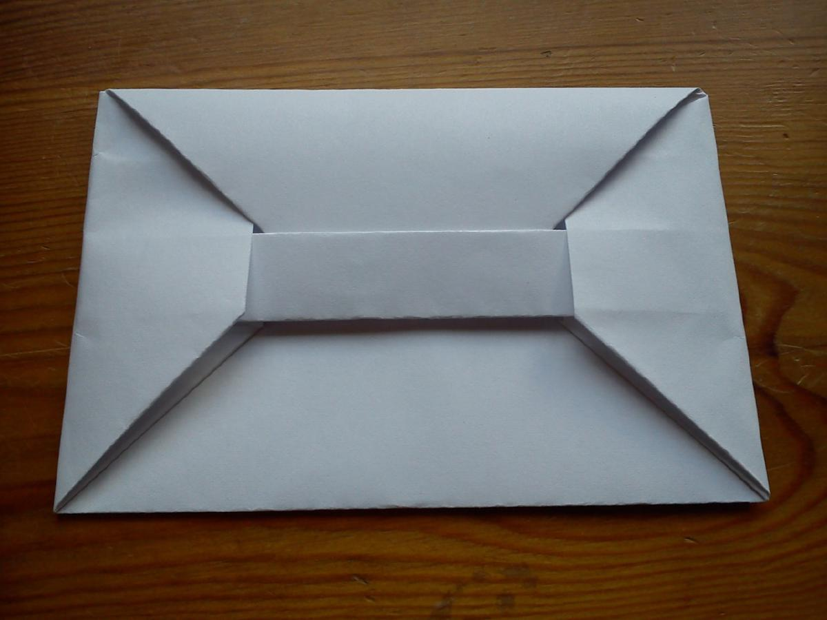 Elegant origami Bar Envelope Instructions | Origami envelope easy ... | 900x1200